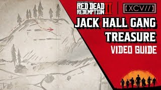RED DEAD REDEMPTION 2  Jack Hall Gang Treasure Map