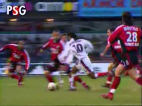 ver videos de los goles de ronaldinho: