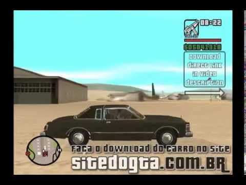 Mod do Carro Chrysler Le Baron 1978 - GTA San Andreas Video