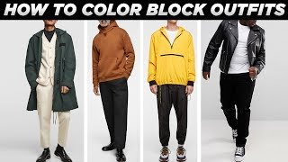 HOW TO COLOR BLOCK OUTFITS PROPERLY | Smart Casual Mens Fashion | StyleOnDeck