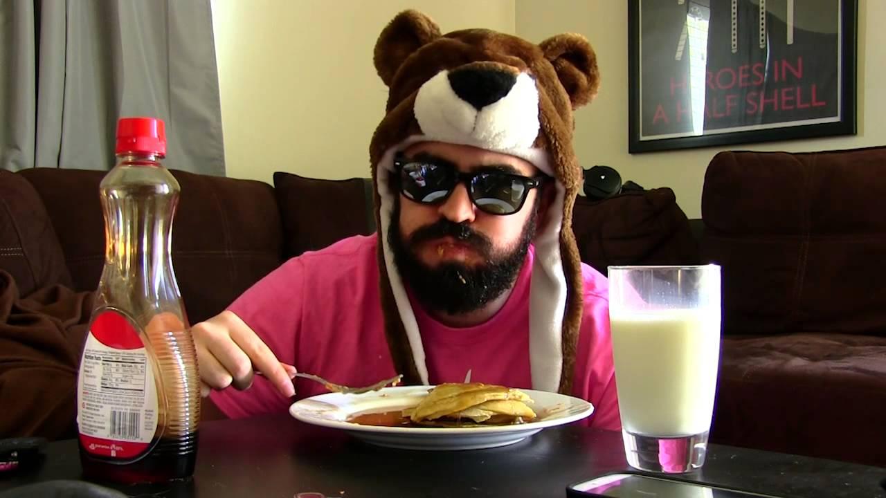 Eating Pancakes in Reverse - YouTube
