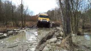 Off roading  Hummer, Milovice II CZ