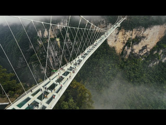 The World's Highest And Longest Glass Bridge - Amazing Places