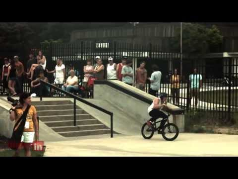 AGA Grand Haven 2013 BMX competition slow motion Subscribe! http://bit.ly/17WKKbT Footage from this year's AGA Grind Haven competition at Grand Haven skatepark. The riders are Augie Hendrickson,...