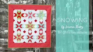 Quilt Pattern: Snowing