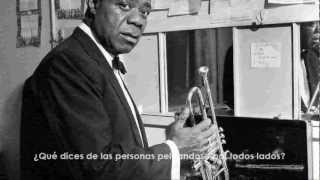 What A Wonderful World Louis Armstrong Español