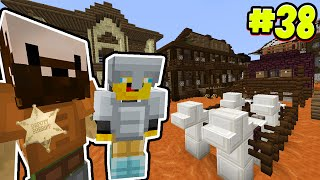 Minecraft - TIME TRAVELLERS! - WILD WEST MYSTERY!! #38 W/Stampy & Ash!