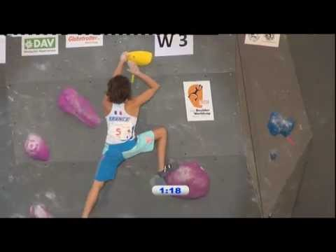 IFSC Climbing World Cup Munich 2012 - Bouldering - Replay Finals