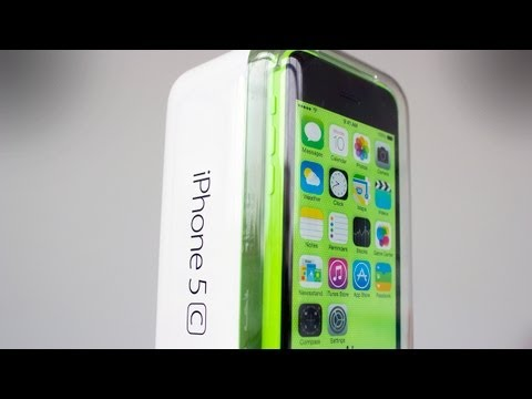 iPhone 5C Green - Unboxing and First Look
