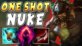 New Broken Tryndamere Nuke Build 100 Instant One Shot All Carries