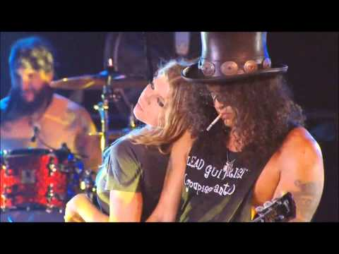 Fergie & Slash - Sweet Child O  Mine + INTERVIEW