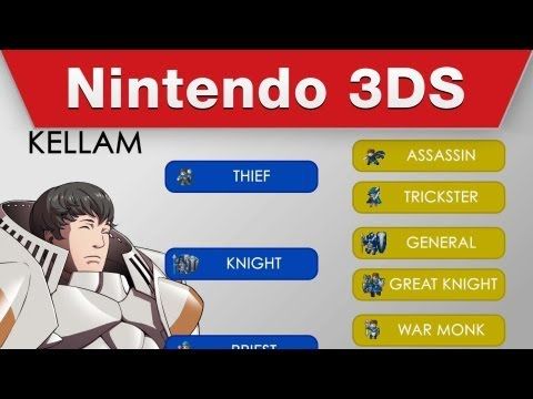 Nintendo 3DS - Fire Emblem Awakening Character Progression Trailer