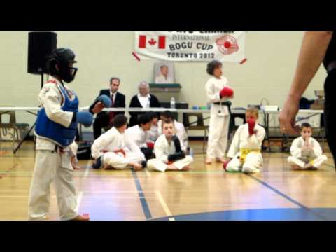 Daniel's 1st Kumite at 2012 Chito-Ryu Karate Tournament
