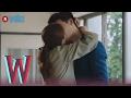 W - EP 17   Lee Jong Suk & Han Hyo Joo, BTS Kiss 1