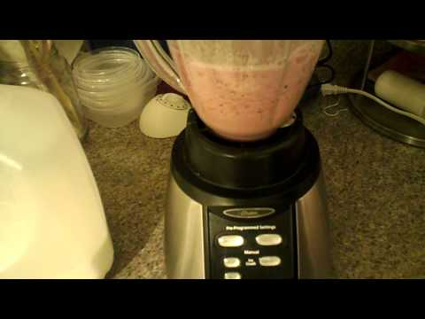 Oster BVCB07 Z Counterforms 6 Cup Glass Jar 7 Speed Blender