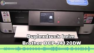 Duplexdruck beim Brother DCP J4120DW