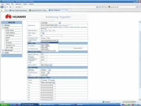 WI FI Huawei HG 530