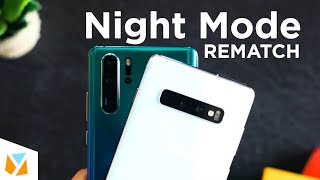 Samsung Galaxy S10+ vs Huawei P30 Pro Night Mode - REMATCH