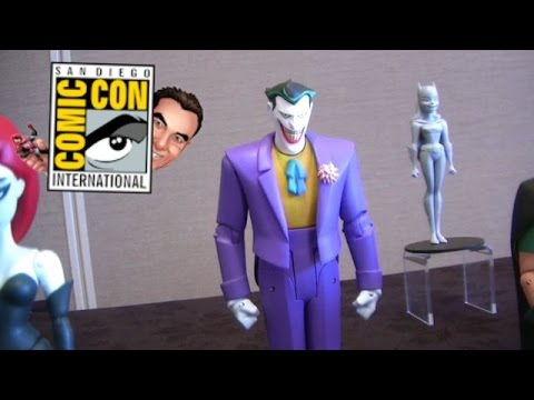DC Collectibles Product Walkthrough at San Diego Comic Con 2014