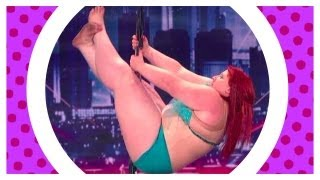 Lulu the Fat Pole Dancer on America's Got Talent - Response