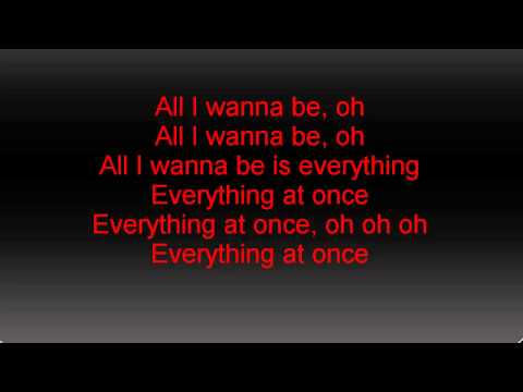 Lenka-Everything at Once (lyrics)
