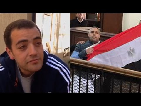 Al Jazeera Journalists Celebrate Freedom in Egypt After 411 Days in Prison, but New Trial Looms