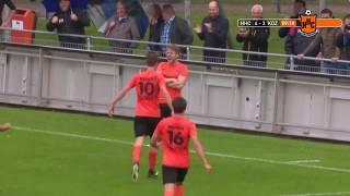 Samenvatting HHC Hardenberg - Kozakken Boys met goals van Werkman, van der Leij en Hemmink