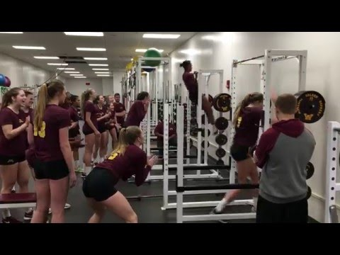 2016 Gopher Volleyball Training Video