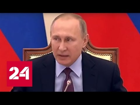 Путин напомнил Сокурову, что Сенцов осужден не за творчество, а за терроризм
