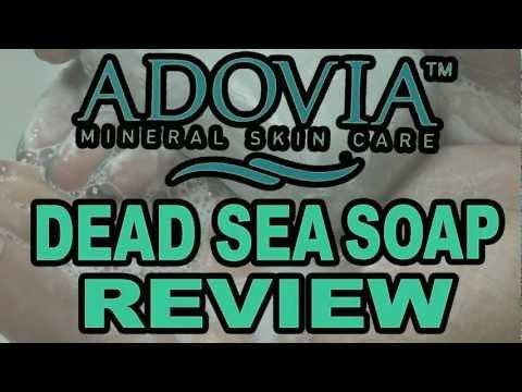 ★ Eczema, Acne, Dry Skin Treatment? | Adovia Dead Sea Mud Soap Review Video