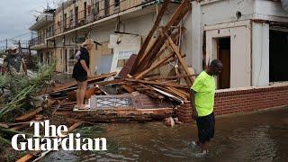 'It was terrifying': Florida residents describe impact of Hurricane Michael