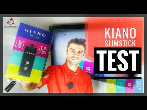 Recenzja KIANO Slim Stick - Mini Komputer Win 10 | ForumWiedzy.pl Bogdan Ligęza