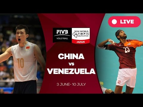 China v Venezuela - 2016 Men's World Olympic Qualification Tournamentt