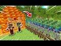 FAKİR'in EN GÜVENLİ LAV EVİ VS ZOMBİ KIYAMETİ! 😱 - Minecraft