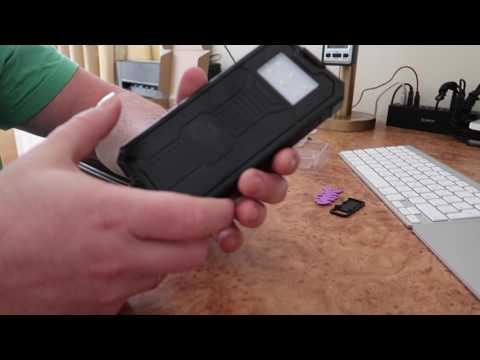 Распоковки Повербанк на солнечных батареях и шнур для Canon G7X Mark2
