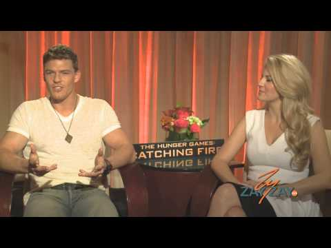 The Hunger Games: Catching Fire - Alan Ritchson & Stephanie Leigh Schlund - ZayZay.Com