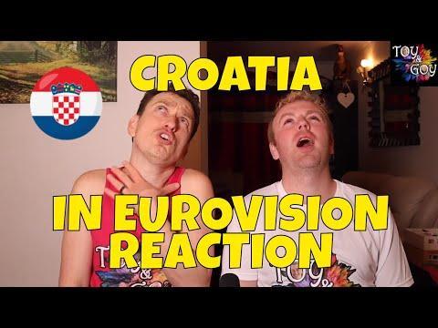EUROVISION CROATIA ALL SONGS REACTION