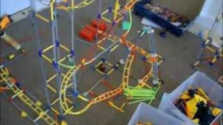 knex coaster scorch collection