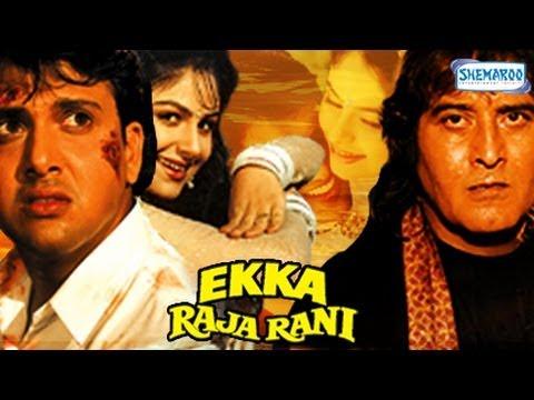 Ekka Raja Rani - Pat 1 Of 15 - Govinda - Ayesha Jhulka - Superhit...