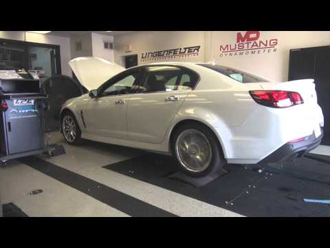 Lingenfelter Performance Engineering 2014 Chevrolet SS Baseline testing