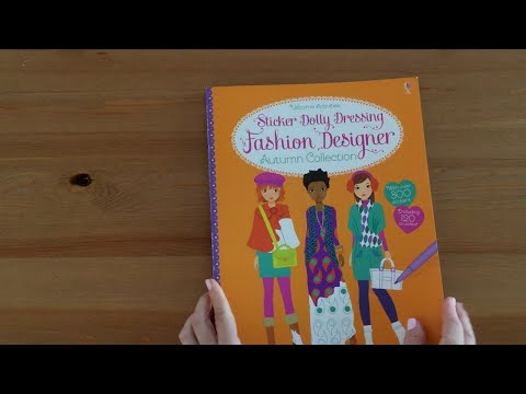 Fashion Designer Autumn Collection - Usborne