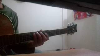 Kotodin dekhina mayer mukh- Guitar notation