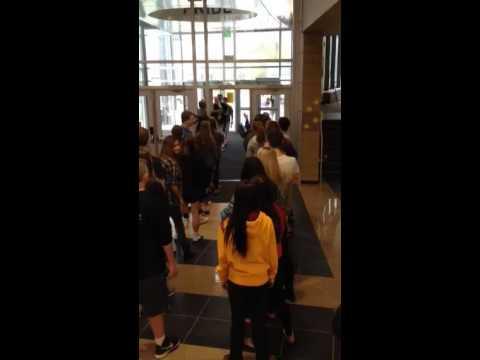 High Five Friday at Bettendorf High School