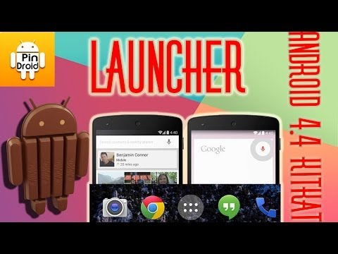 Instalar Android 4.4 KitKat Launcher + Gapps + Nexus 5 Wallpapers    Pindroid Channel