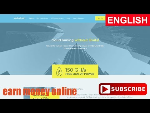 ElderHash Bitcoin Cloud Mining Free 150 GH/S Paying or Scam Payment Proof Review 2017