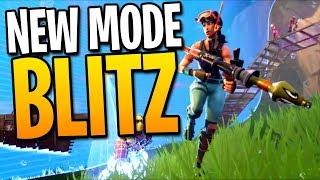 NEW FORTNITE BLITZ MODE GAMEPLAY! - Fortnite: Battle Royale Blitz Squads