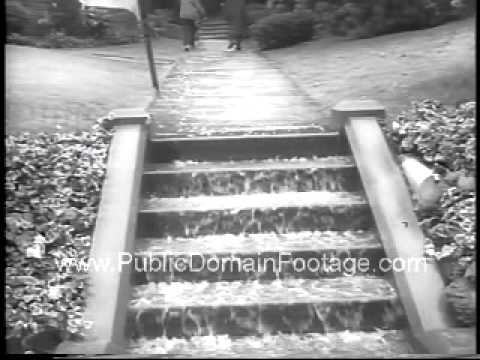Autumn Storms delay Game 6 of 1962 World Series Newsreel PublicDomainFootage.com