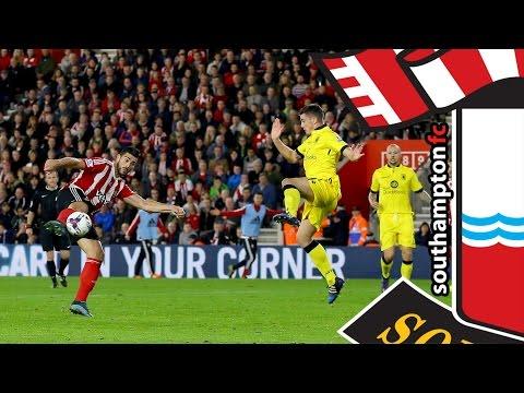 HIGHLIGHTS: Southampton 2-1 Aston Villa (Capital One Cup Round 4)