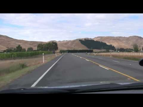 Driving to Christchurch, New Zealand from Marlborough. Filmed in full HD.