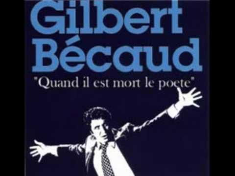 Gilbert Bécaud Gilbert Becaud Le Petit Oiseau De Toutes Les Couleurs